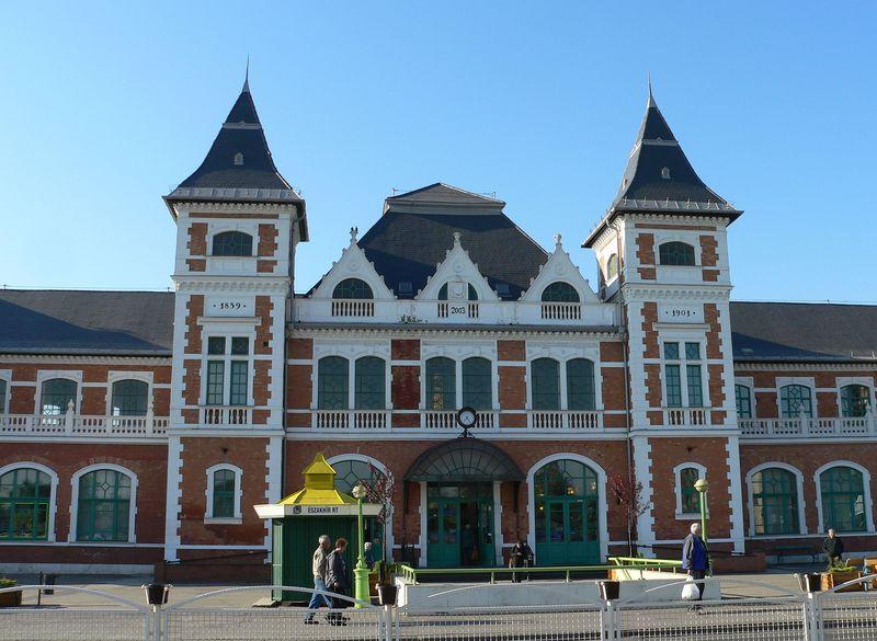 A miskolci vasútállomás képe
